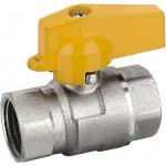 Кран шаровый газовый для пломб. AOSKER ВВ 1005 Ду15, Ру5