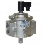 Клапан электромагнитный газовый  M16/RMС НО Dn15, 500 mbar