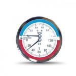 Термоманометр ДМТ-05080 осевой 1 МПа 150°C