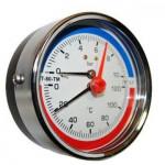 Термоманометр МТ-80-ТМ осевой (кл. 2.5) 4 bar 120°C