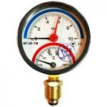 Термоманометр МТ-80-ТМ радиальный 10 bar 150°C