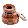 Детали трубопровода стальные - Прокладки фланцевые и прокладочные материалы